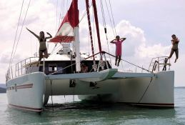 Blaze II Sunreef Catamaran Sail 62' Exterior 4