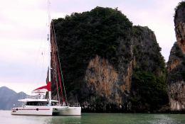 Blaze II Sunreef Catamaran Sail 62' Exterior 1