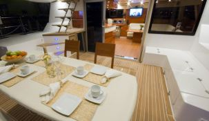 Blaze II Sunreef Catamaran Sail 62' Interior 6