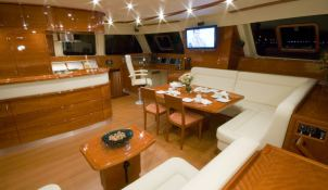 Blaze II  Sunreef Catamaran Sail 62' Interior 9