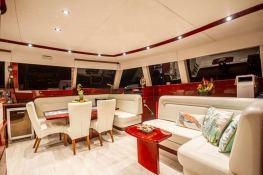Dolce Vita  Sunreef Catamaran Sail 62' Interior 11