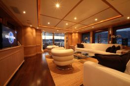 PK Boo II (ex Chrismi II) Trehard Marine Yacht 27M Interior 1