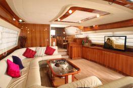 PK Boo II (ex Chrismi II) Trehard Marine Yacht 27M Interior 2