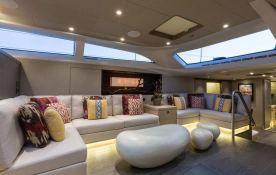 Inukshuk  Baltic Yacht 107' Interior 9