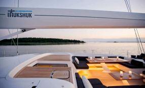 Inukshuk  Baltic Yacht 107' Interior 13