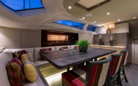 Inukshuk  Baltic Yacht 107' Interior 14