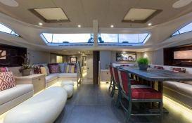 Inukshuk  Baltic Yacht 107' Interior 15