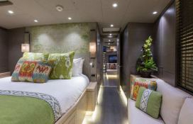 Inukshuk  Baltic Yacht 107' Interior 8