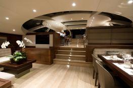 Inukshuk  Baltic Yacht 107' Interior 1