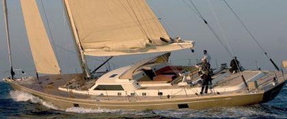 DHARMA  Southern Wind Sloop 100' Exterior 1