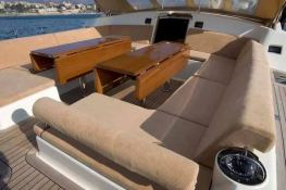 DHARMA  Southern Wind Sloop 100' Interior 1