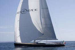 Far and Wide  Southern Wind Sloop 100' Exterior 4