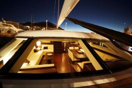 DHARMA  Southern Wind Sloop 100' Interior 2