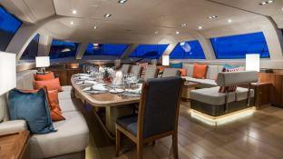 Twilight  Oyster Marine yacht 125' Interior 11