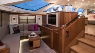 Twilight  Oyster Marine yacht 125' Interior 12
