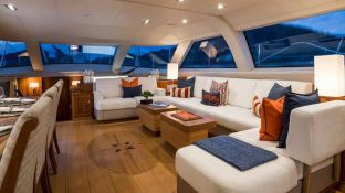 Twilight  Oyster Marine yacht 125' Interior 15