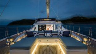 Twilight  Oyster Marine yacht 125' Exterior 8