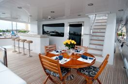 Lady M (ex Aquasition) Intermarine Yacht 45M Exterior 4
