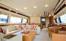 Unforgettable  Ferretti Yacht 830 Interior 1