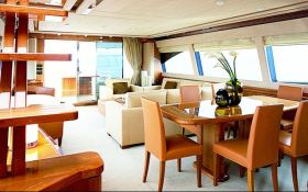 Unforgettable Ferretti Yacht 830 Interior 3