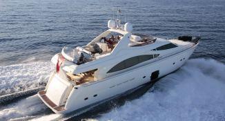 Unforgettable Ferretti Yacht 830 Exterior 1