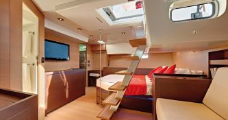 Swallows and Amazon Creek  CNB Sloop 77' Interior 2