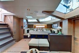 Swallows and Amazon  CNB Sloop 77' Interior 1