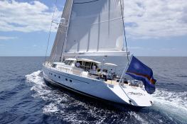 Hyperion  Royal Huisman Sloop 48M Exterior 2