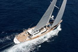 Hyperion Royal Huisman Sloop 48M Exterior 1