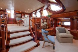 Hyperion  Royal Huisman Sloop 48M Interior 6