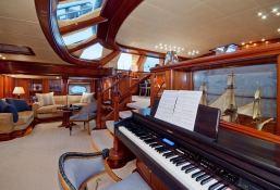 Hyperion  Royal Huisman Sloop 48M Interior 25