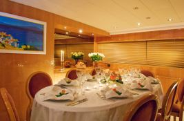 Indulgence of Poole  Overmarine Mangusta 85 Interior 1
