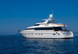 Indulgence of Poole  Overmarine Mangusta 85 Exterior 2