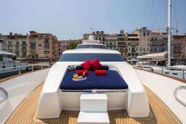 Indulgence of Poole  Overmarine Mangusta 85 Exterior 5