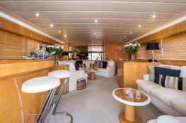 Indulgence of Poole  Overmarine Mangusta 85 Interior 9