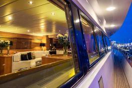 Indulgence of Poole  Overmarine Mangusta 85 Interior 14