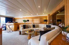 Indulgence of Poole  Overmarine Mangusta 85 Interior 15