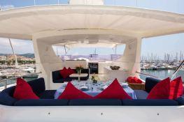 Indulgence of Poole  Overmarine Mangusta 85 Interior 16