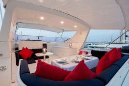Indulgence of Poole  Overmarine Mangusta 85 Interior 18