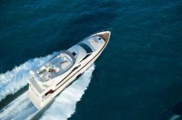 Debra One  Ferretti Yacht 731 Exterior 2