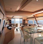 Debra One  Ferretti Yacht 731 Interior 1