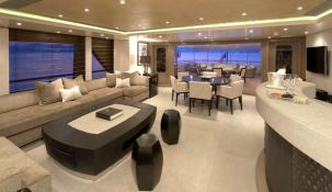 Hurricane Run Feadship Yacht 54M Interior 4