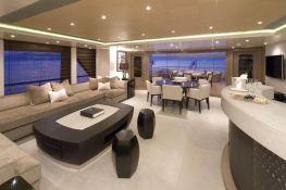 Hurricane Run  Feadship Yacht 54M Interior 12