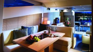 Manhattan 64' Sunseeker Interior 2