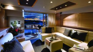 Manhattan 64' Sunseeker Interior 1