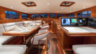 This Is Us (ex Skylge) Holland Jachtbouw Schooner 42M Interior 1