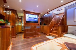 This Is Us (ex Skylge) Holland Jachtbouw Schooner 42M Interior 3