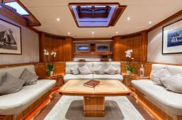 This Is Us (ex Skylge) Holland Jachtbouw Schooner 42M Interior 2