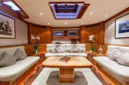 This Is Us (ex Skylge) Holland Jachtbouw Schooner 42M Interior 2