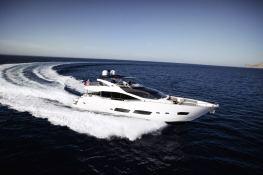 Autumn Sunseeker Yacht 28M Exterior 2